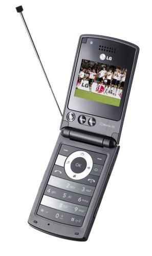 LG HB 620 T UMTS Handy mit DVB-T (HSDPA, MP3-Player, TV-Empfänger, 2MP-Kamera) schwarz (Lg An&t)