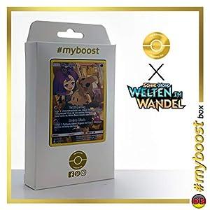 Mimigma (Mimikyu) 245/236 Full Art Secreta - #myboost X Sonne & Mond 12 Welten im Wandel - Box de 10 cartas Pokémon Alemán