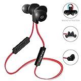Kingyou Bluetooth Kopfhörer 4.1 Sport Kopfhörer In Ear Ohrhörer Stereo mit Mikrofon magnetische...