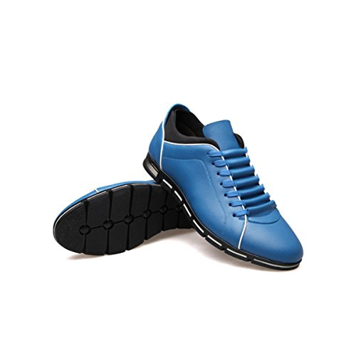 LYZGF La Primavera E L'autunno Degli Uomini Di Grandi Dimensioni Moda Casual Scarpe Sportive Leggere Blue