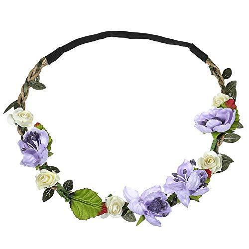 5282ff54e31e2d Neu Garland Simulation Kleine Blume Haarband Damen Stirnband Kopfband, LEEDY  Tanzparty Party Geschenk Neuheit Blume