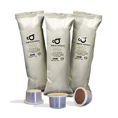 Coffiamo - 150 capsule compatibili con uno system - gusto intenso espresso bar