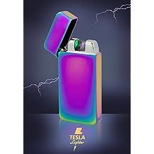Tesla-Lighter T10 Photosensor Lichtbogen Feuerzeug USB Feuerzeug wiederaufladbar Double Arc Regenbogen