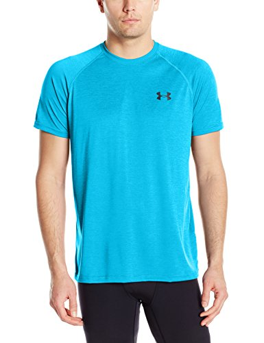 2017 Under Armour Mens HeatGear Tech Short Sleeve Training T-Shirt Blue Shift XXXL (Neue T-shirt Xxx-large)