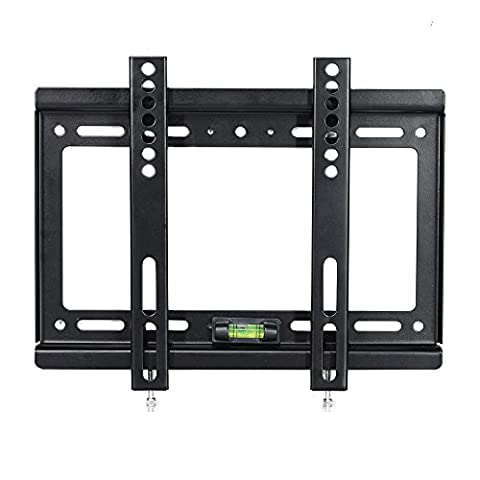 Lumsing Support TV Slim profil bas 14-42 pouces coin LCD LED Plasma Flat Panel TV Wall Mount Vesa MAX 200 X 200mm