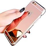 Compatible avec Coque iPhone 6S Plus,Miroir Coque Silicone Housse Souple Etui de...