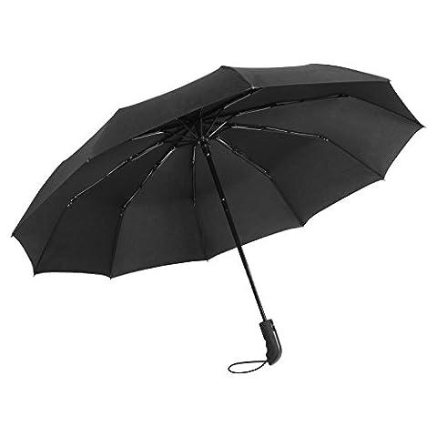 NATURE ANN, Parapluie pliants noir noir