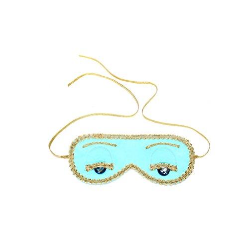 Tiffany Türkis Schlafmaske Frühstück bei Tiffany Hepburn Handmade (ohne ()