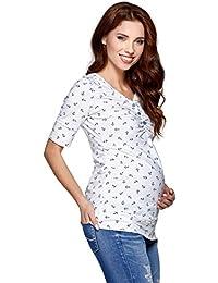 Be! Mama Umstandsshirt, Stillshirt mit Kapuze, FARBAUSWAHL, Modell: IMAN, lang- oder kurzärmlig!