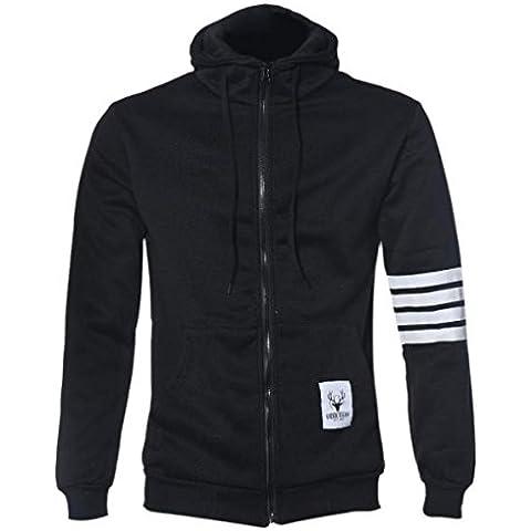 Coversolate Moda hombres Hoodies marca deportiva traje de alta calidad Hombres sudadera con capucha casual Zipper chaqueta con capucha hombres