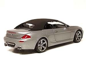 Kyosho - KYOS08704S - Véhicule Miniature - BMW M6 Convertible - Argent - Echelle 1/18