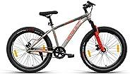 VECTOR 91 Skullrider 26T Single Speed Hybrid Bike (Ideal For: 12+ Years , Brake: Disc )