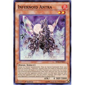 Preisvergleich Produktbild Yu-Gi-Oh! - Infernoid Antra (SECE-EN013) - Secrets of Eternity - 1st Edition - Super Rare by Yu-Gi-Oh!