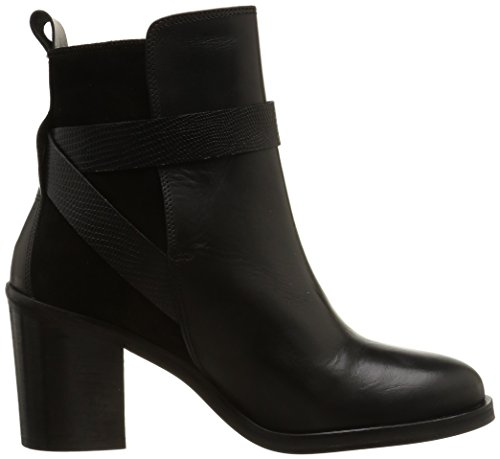 JONAK 088-11373 Damen Stiefel & Stiefeletten Schwarz - Noir (Velours/Noir)