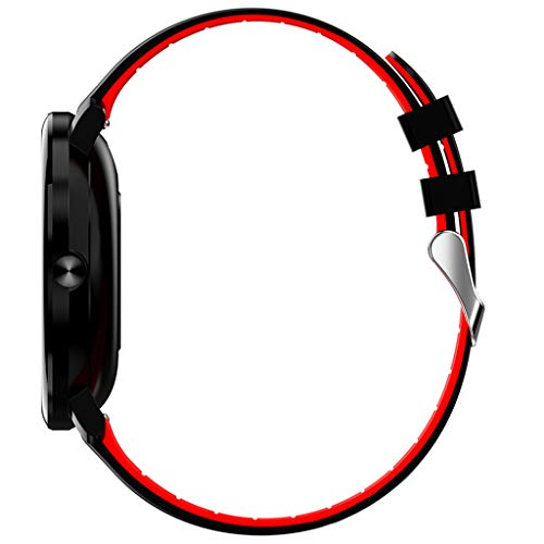 asserdicht IP68 Smart Watch Uhr mit Pulsmesser Fitness Tracker Sport Uhr Fitness Uhr mit Schrittzähler,Schlaf-Monitor,Stoppuhr,Call SMS Benachrichtigung Push für Android und iOS ()