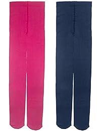 Lot de 2-3 Paires Collant Fille Bébé 1-14ans coloré tient chaud opaque-Leggings chaussette