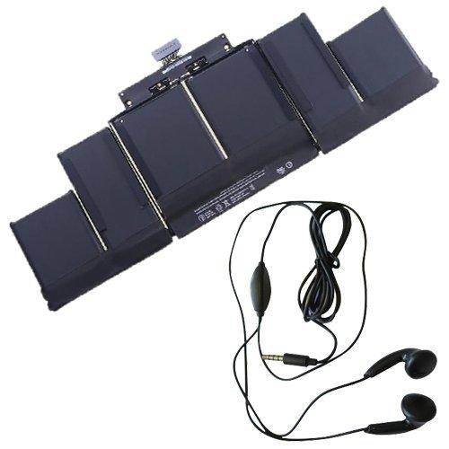 Preisvergleich Produktbild amsahr A1494-03 Ersatz Batterie für Apple Macbook Pro 38,1 cm (15 Zoll) A1398 Late 2013 Retina, ME293 - Umfassen Stereo Ohrhörer schwarz