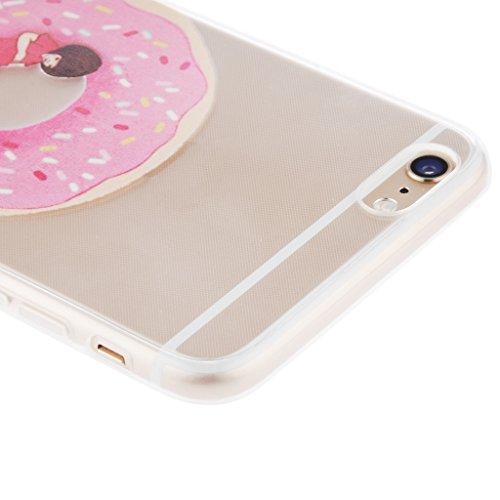 Generic Klar Donut Kreisringmuster Telefon-Kastenabdeckung Shell Für Iphone 6 6s 6 Plus - Für Iphone 6 Plus Color1 Für Iphone 6 6s Farbe 10