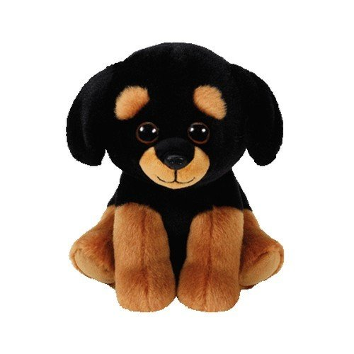 Ty Beanie Babies Trevour-Perro Rottweiller 15 cm (42250TY) (United Labels Ibérica