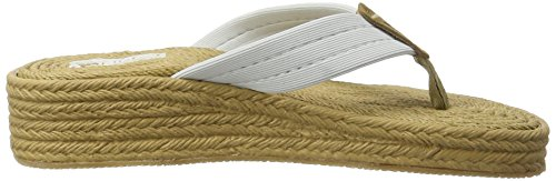 Ice Peak Julia, Chaussons Montants Femme Blanc (Optic White)