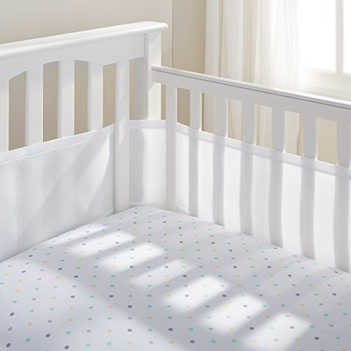 breathablebaby-4-sided-cot-mesh-liner-white