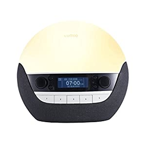 Lumie Bodyclock Luxe 750D – Wake-up Light with DAB+, Bluetooth Audio & Low-Blue Light for Sleep from Lumie