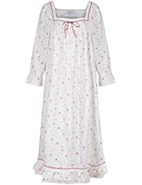 pourThe 1 for U 100% coton Longue robe de nuit - Martha - S-XXXXL