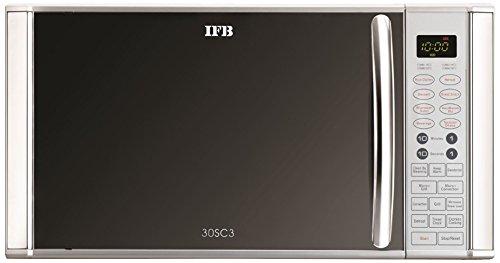 IFB 30SC3 30-Litre 1400-Watt Convection Microwave Oven (Metallic Silver)