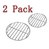Barbecue 2x griglia for barbecue a gas, griglia in acciaio inossidabile, griglia di ricambio, maglie di ricambio, forno sicuro, cottura, arrostimento, asciugatura, grigliatura