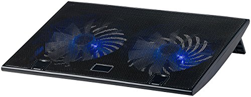 Callstel Notebook Kühler: Ultraleiser Laptop-Kühler bis 43,8 cm (17
