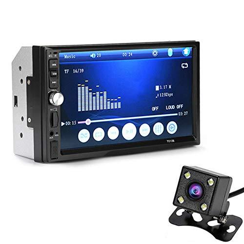 yangGradel 7 Zoll Doppel 2Din Auto MP5 Player Bluetooth Stereo Radio HD Kamera FM Aux-Eingang