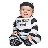 My Other Me Me-202512 Disfraz de preso bebé para niño, 7-12 Meses (Viving Costumes 202512)