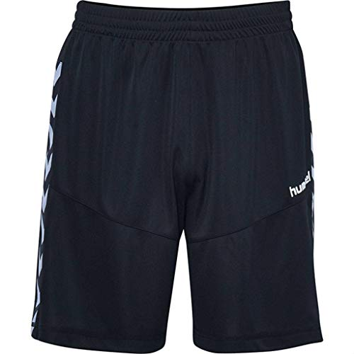 Hummel Damen Court Poly Shorts, Black, S