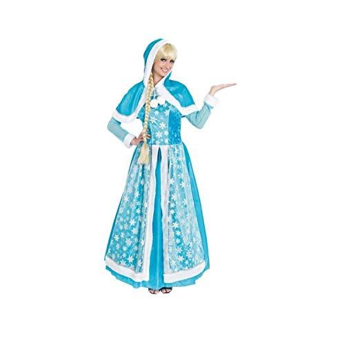 Kostüm Königin Eis - Chaks c4120l, Kostüm Königin der Eis Erwachsene, Größe L