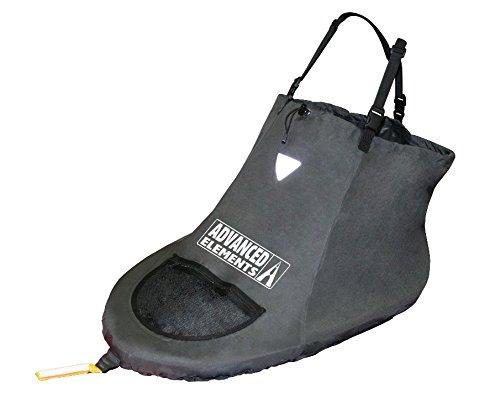 Advanced Elements Spray Skirt - Faldón de Kayak y Piragua, Color Negro