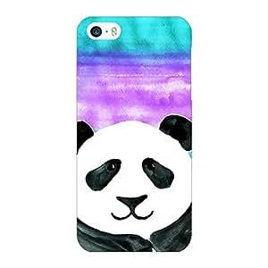 Jugaaduu Panda Pattern Back Cover Case For Apple iPhone 5c