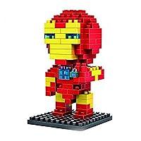 Small particle building blocks avengers Iron Man Children's Puzzle Model Toys