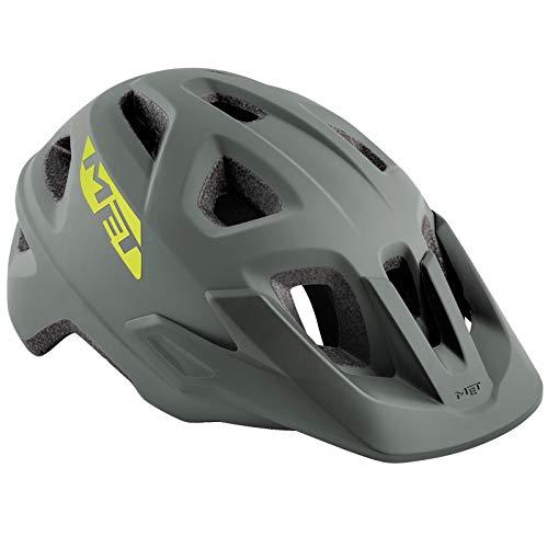 MET Echo Helm Gray Kopfumfang M/L | 57-60cm 2019 Fahrradhelm