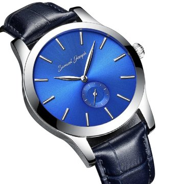 samuel-joseph-bespoke-mens-43mm-wrist-watch-master-crafted-with-bohemian-blue-dial-steel-case-and-sm