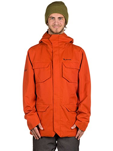 RIP CURL Herren Powpow Search 2L Jacket, Rooibos Tea, L