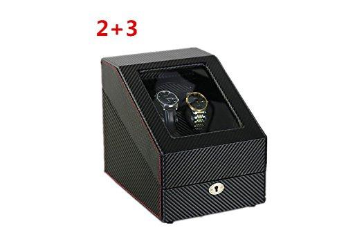 Motoren Uhr (New Premium Uhrenbeweger Uhrenbox eine Uhr mit Automatische Watch Box automatische Uhren?Schweigsam Motor?Mabuchi Motors WB6935 , # 2)