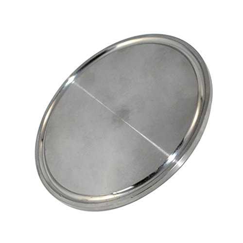 3' Diameter 77mm SS304 Sanitary End Cap fits 3' Tri-Clamp with Ferrule Flange OD 89 MM Edelstahl Rohr Rohrverbinder