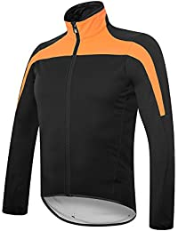 RH + Space Jacket blk-ligora L, chaquetas (Ciclismo) Hombre, black-light Orange, L