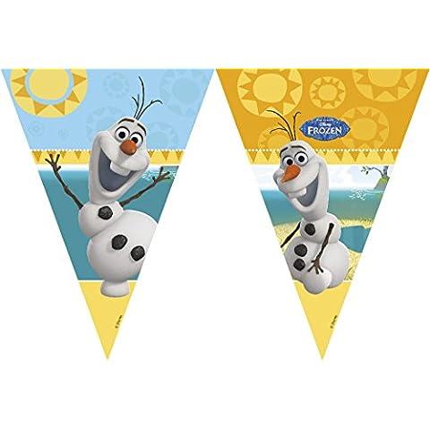 Disney bandera Banderas de la Reina de las Nieves - Olaf verano - Frozen
