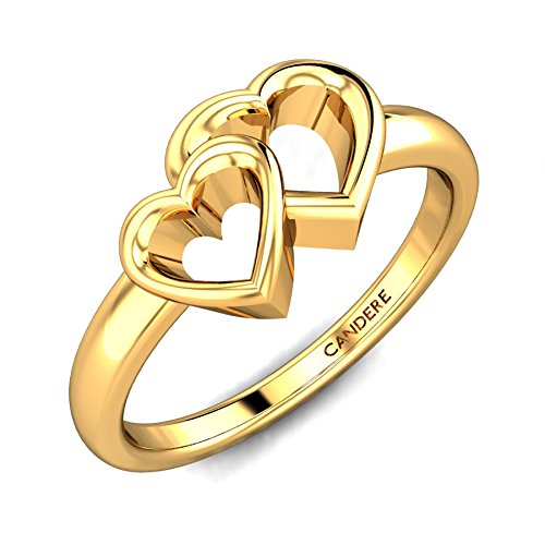 Candere By Kalyan Jewellers 22k (916) Yellow Gold Yutika Ring for Women
