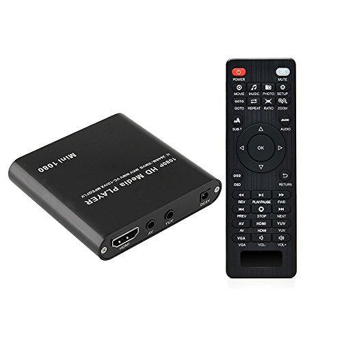 AGPTEK HDMI Media Player, Mini 1...