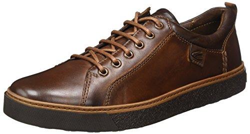 camel active Herren Cricket 12 Sneaker, Braun (Brandy/Mocca), 43 EU