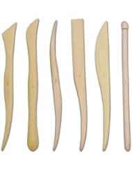 Royal & Langnickel RSET-POT7 Sculpteur bois 20 cm 6 pièces
