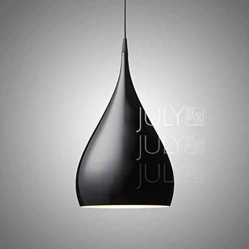 Quietness @ Moderno Lampadario LED Industrie Creative Loft Lampadario Per Sala Da Pranzo Camera Da Letto Soggiorno Deposito Nero Di Grasso
