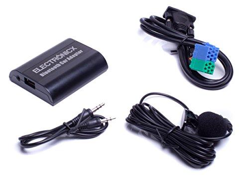 Bluetooth Freisprechanlage, Bluetooth Musik Streaming Adapter für Originalradios inkl. AUX und USB-Ladebuchse BTA-BEK